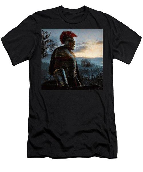 Portrait Of A Roman Legionary - 34 Men's T-Shirt (Athletic Fit)