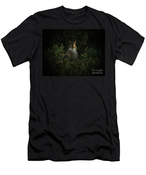 Portrait Of A Squirrel Men's T-Shirt (Athletic Fit)