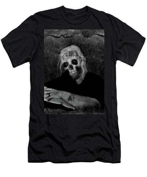Portrait Of A Zombie Men's T-Shirt (Athletic Fit)