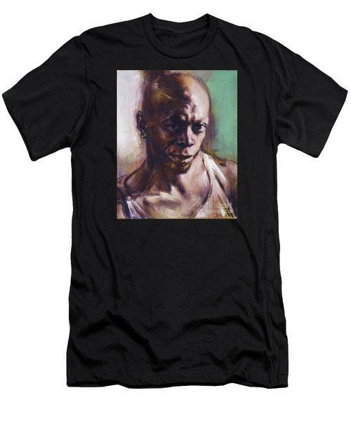 Portrait Of Don Pullen Men's T-Shirt (Athletic Fit)