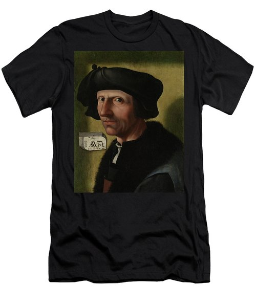 Portrait Of Jacob Cornelisz Van Oostsanen Men's T-Shirt (Athletic Fit)