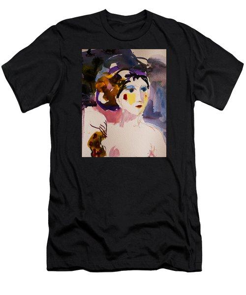 Portrait Of Joy Men's T-Shirt (Athletic Fit)