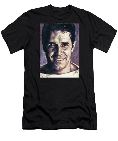 Portrait Of Julien Clerc Men's T-Shirt (Athletic Fit)