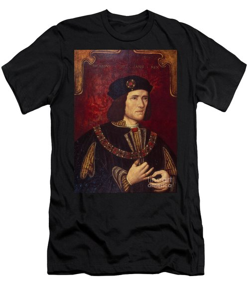 Portrait Of King Richard IIi Men's T-Shirt (Athletic Fit)