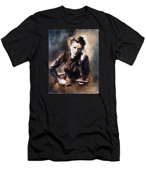 Portrait Of Marie Curie Men's T-Shirt (Athletic Fit)