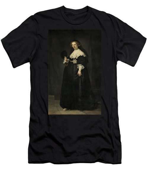 Portrait Of Oopjen Coppit, 1634 Men's T-Shirt (Athletic Fit)