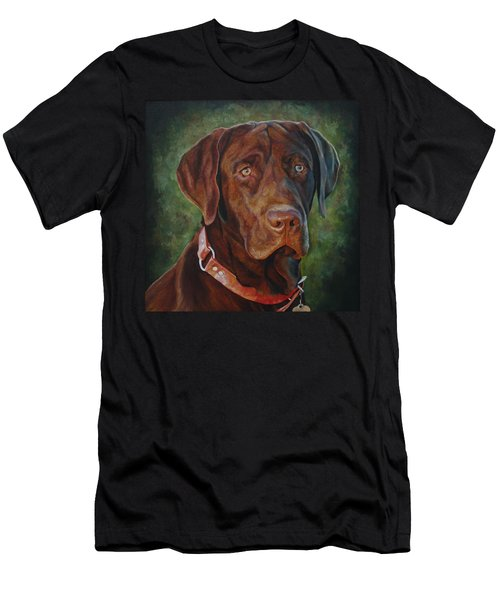 Portrait Of Remington 0094_2 Men's T-Shirt (Athletic Fit)