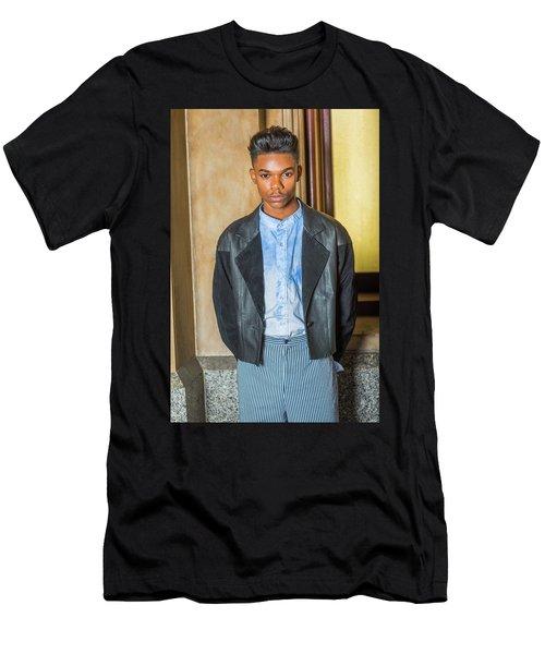 Portrait Of School Boy 15042624 Men's T-Shirt (Athletic Fit)