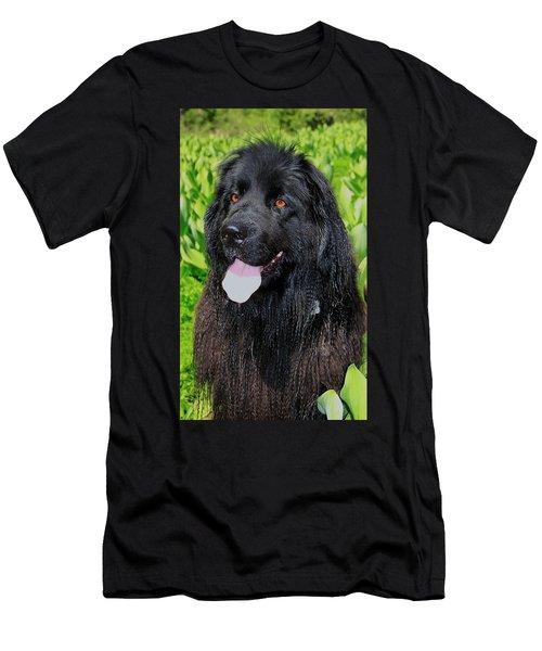 Portrait Of Sierra Men's T-Shirt (Athletic Fit)