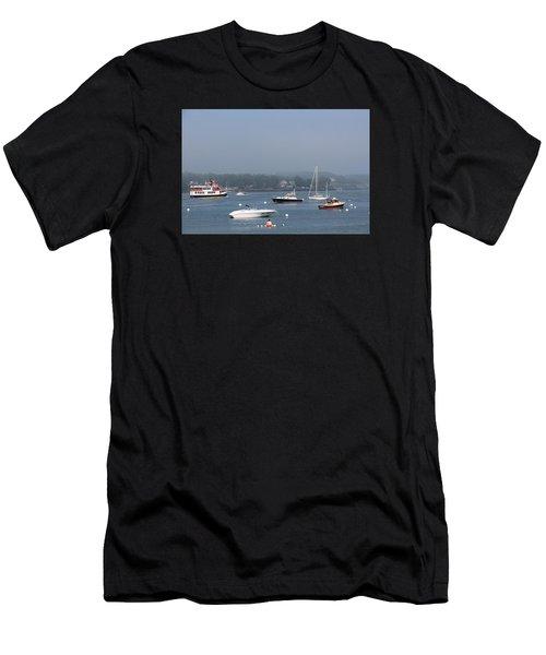 Portsmouth Harbor Nh Men's T-Shirt (Athletic Fit)