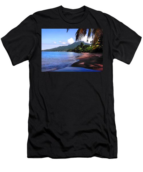 Portsmouth Shore On Dominica Filtered Men's T-Shirt (Athletic Fit)