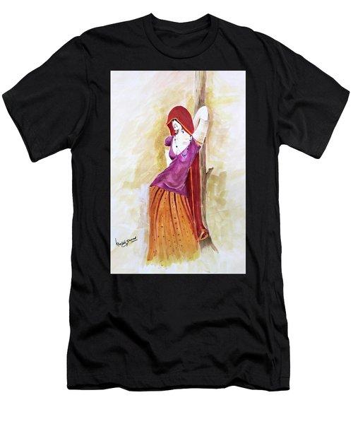 Pose Men's T-Shirt (Athletic Fit)