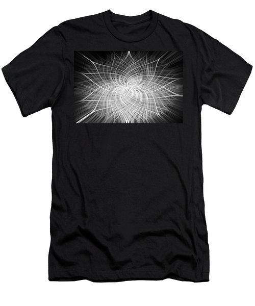 Men's T-Shirt (Slim Fit) featuring the digital art Positivity by Carolyn Marshall