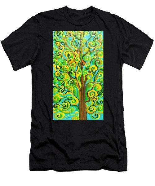 Positronic Spirit Tree Men's T-Shirt (Athletic Fit)
