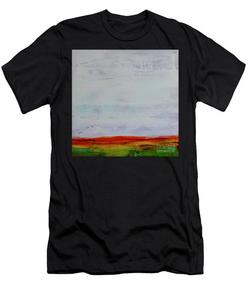 Men's T-Shirt (Athletic Fit) featuring the painting Post Apocalypse by Kim Nelson