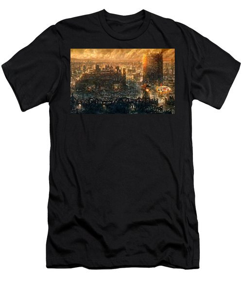 Post Apocalyptic Men's T-Shirt (Athletic Fit)