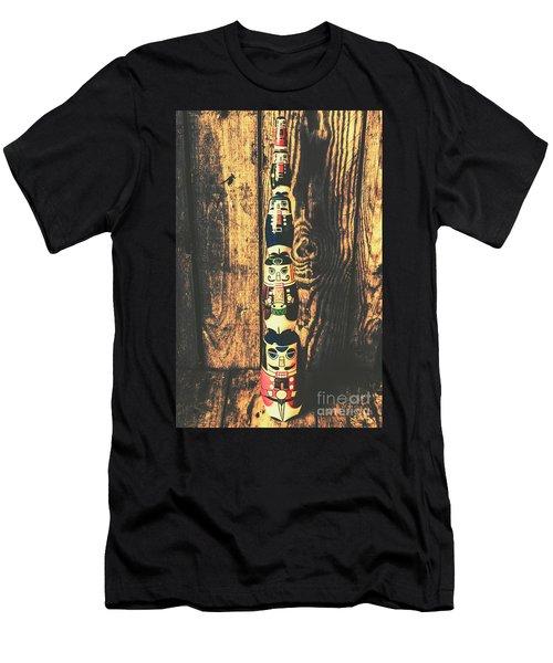 Post Of Commanders Men's T-Shirt (Athletic Fit)