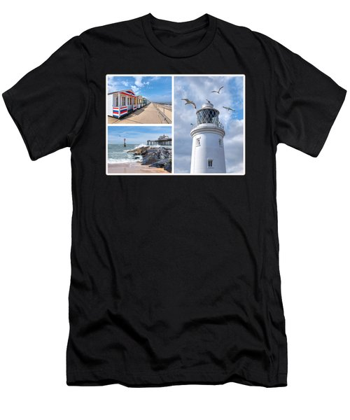 Postcard From Southwold Men's T-Shirt (Athletic Fit)