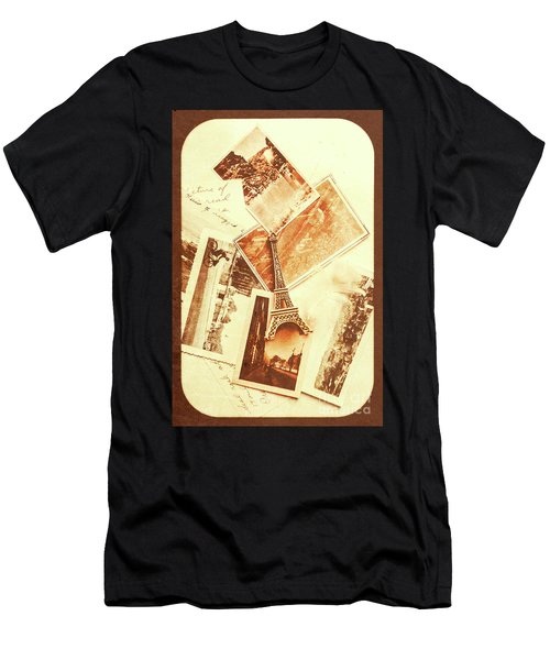 Postcards And Letters From The City Of Love Men's T-Shirt (Athletic Fit)