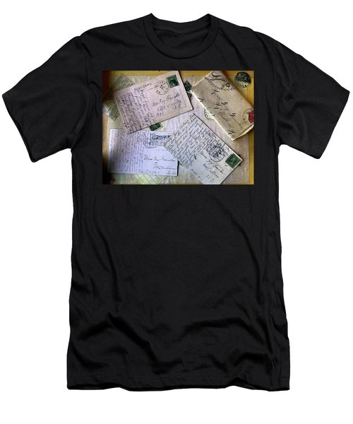 Postcards And Proposals Men's T-Shirt (Athletic Fit)