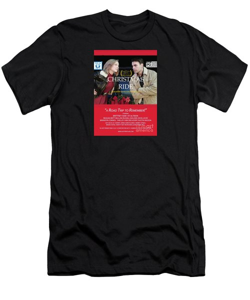Christmas Ride Poster With Ratings Men's T-Shirt (Athletic Fit)
