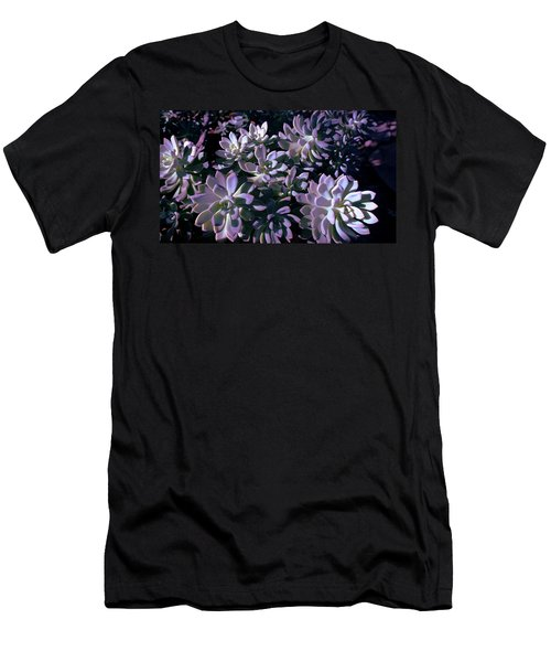 Men's T-Shirt (Slim Fit) featuring the photograph Pot Mates 3 by M Diane Bonaparte