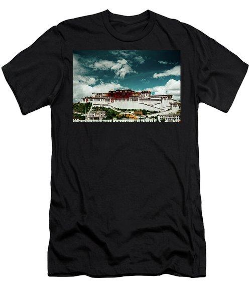 Potala Palace. Lhasa, Tibet. Artmif.lv Men's T-Shirt (Athletic Fit)