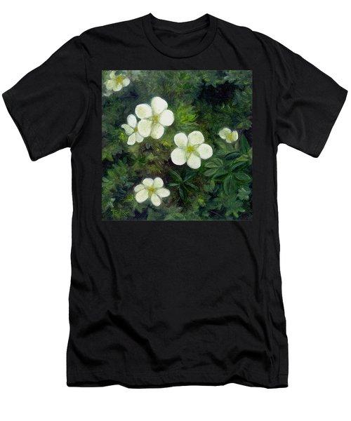 Potentilla Men's T-Shirt (Athletic Fit)