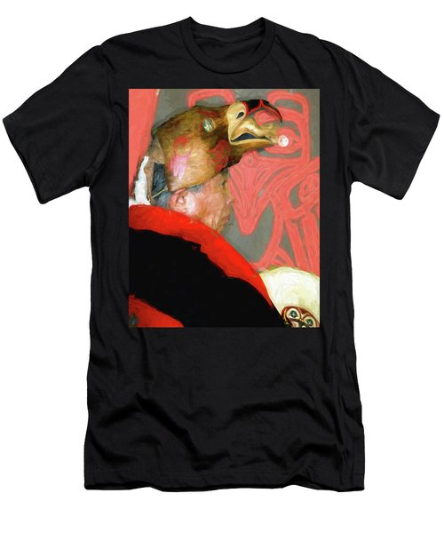 Potlatch Dancer Men's T-Shirt (Slim Fit) by Greg Sigrist