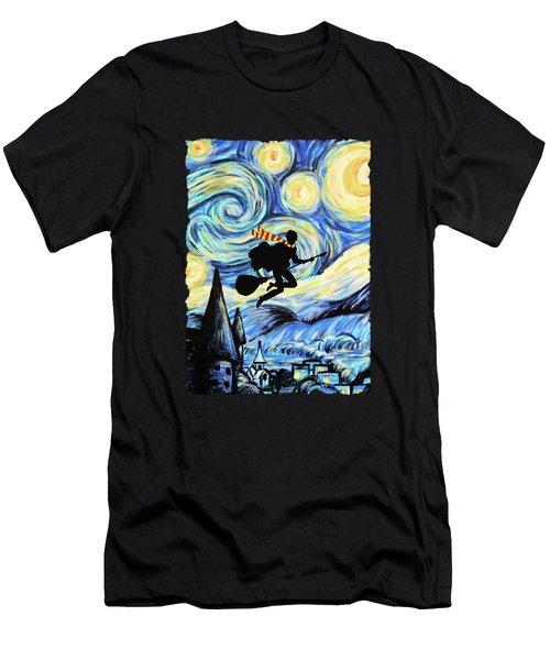 Potter Starry Night Men's T-Shirt (Athletic Fit)