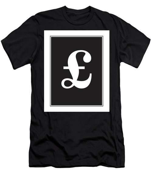 Pound Symbol  Men's T-Shirt (Athletic Fit)