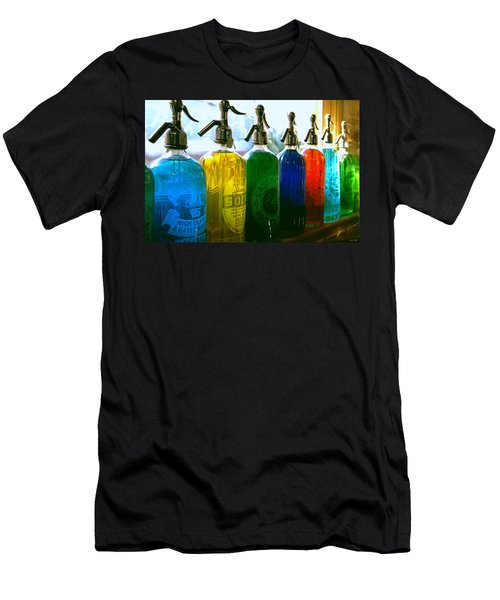 Pour Me A Rainbow Men's T-Shirt (Slim Fit) by Holly Kempe