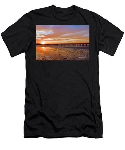 Powder Point Bridge Duxbury Men's T-Shirt (Athletic Fit)