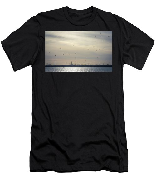 Power By The Sea Men's T-Shirt (Athletic Fit)