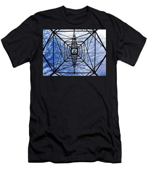 Powerful Geometry Men's T-Shirt (Athletic Fit)