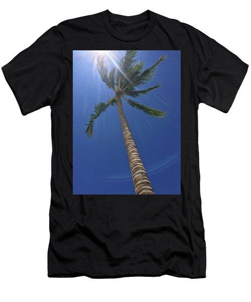 Powerful Palm Men's T-Shirt (Athletic Fit)