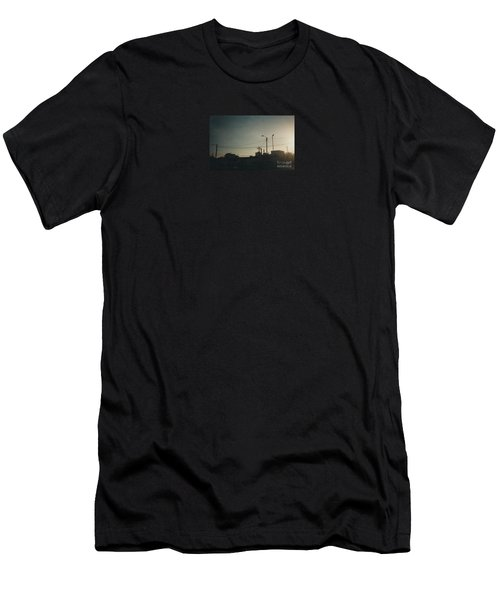 Untitled Street Scene Men's T-Shirt (Athletic Fit)