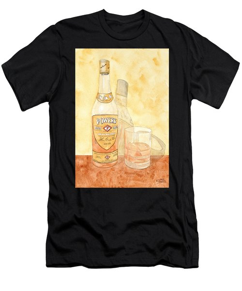 Powers Irish Whiskey Men's T-Shirt (Athletic Fit)