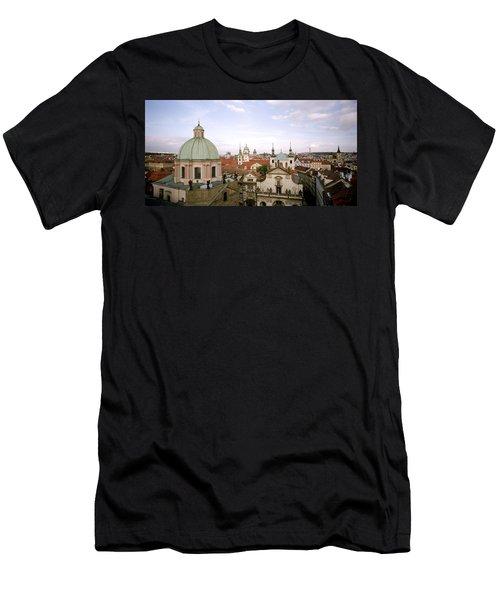 Prague Twilight Men's T-Shirt (Athletic Fit)