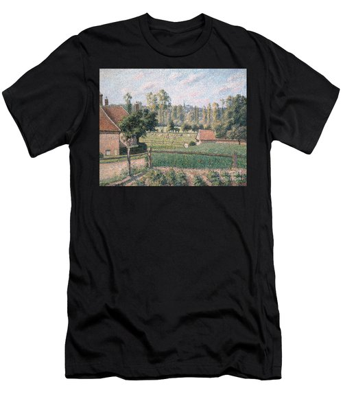 Prairie At Eragny, 1889 Men's T-Shirt (Athletic Fit)