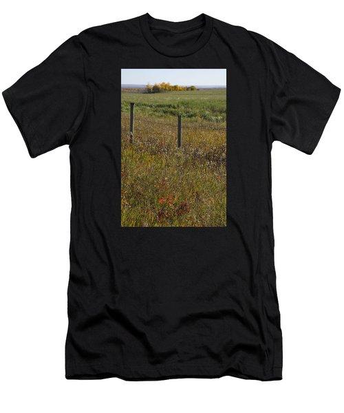 Prairie Autumn Men's T-Shirt (Athletic Fit)