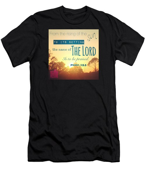 From The Rising Of The Sun Men's T-Shirt (Athletic Fit)