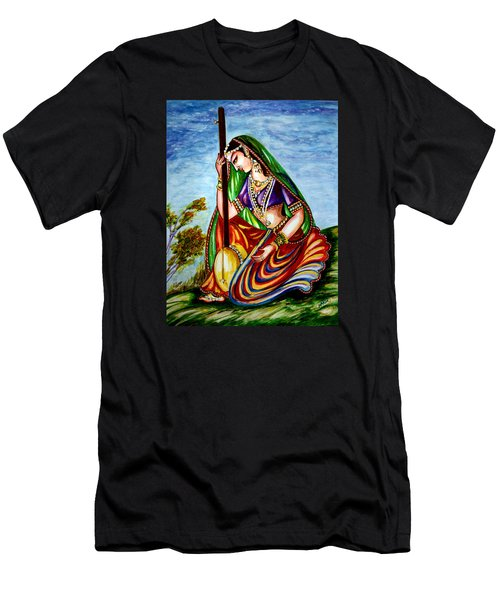 Krishna - Prayer Men's T-Shirt (Slim Fit)