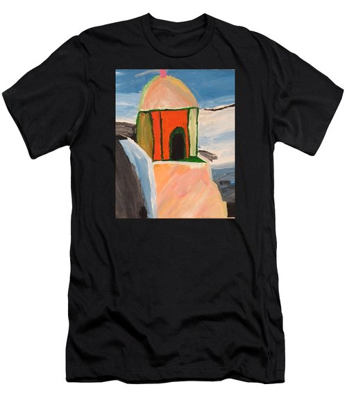 Prayer Hut Men's T-Shirt (Athletic Fit)