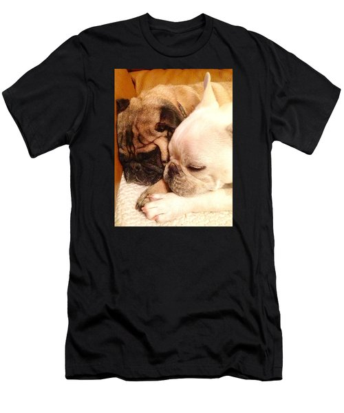 Praying Paws Men's T-Shirt (Athletic Fit)