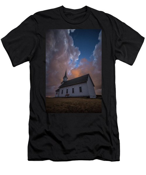 Men's T-Shirt (Athletic Fit) featuring the photograph Preacher by Aaron J Groen