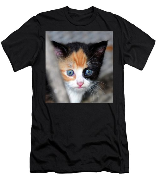 Men's T-Shirt (Slim Fit) featuring the photograph Precious by David Lee Thompson