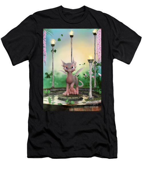 Precious In Pink Men's T-Shirt (Athletic Fit)