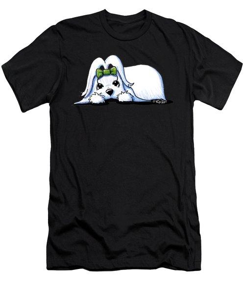Precious Maltese Men's T-Shirt (Athletic Fit)