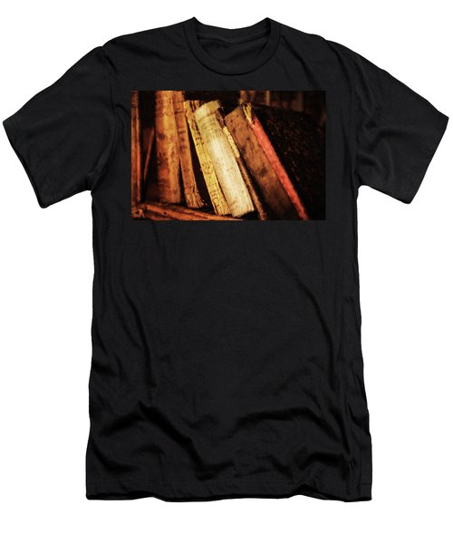 Precious Old Books Men's T-Shirt (Athletic Fit)